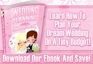 Wedding Planning on a Budget ad