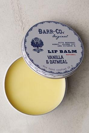 vanilla and oatmeal lip balm