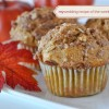 mywedding Recipe of the Week: Whole Wheat Pumpkin Applesauce Muffins