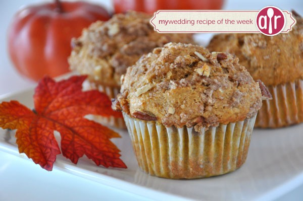 whole wheat pumpkin applesauce muffins