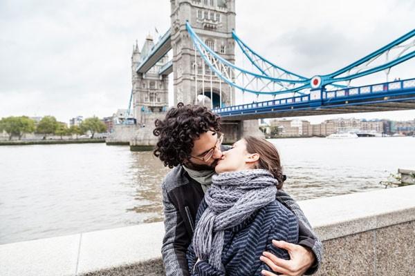 London honeymoon