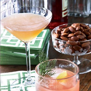 cognac and champagne cocktail