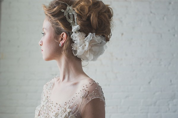 Flora headband from Hushed Commotion in mywedding magazine
