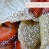 mywedding Recipe of the Week: Vanilla Crepes