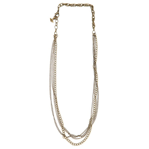 brass-chain-necklace