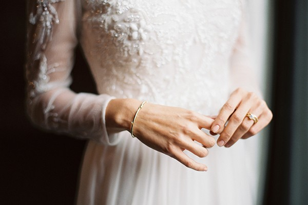 Twig jewelry by Olivia Ewing from mywedding magazine photo by Kate Ignatowski