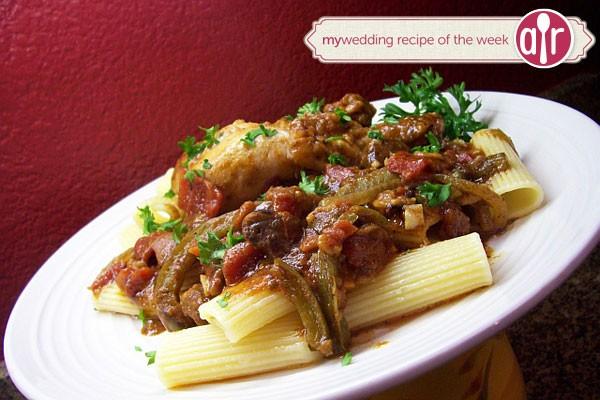 recipe for chicken cacciatore