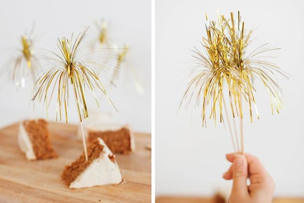 fringe cupcake toppers