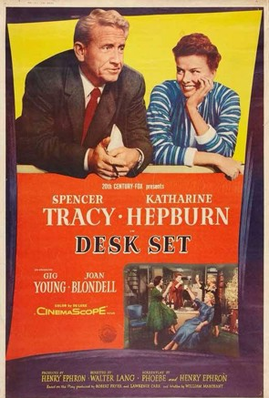 Desk Set movie poster