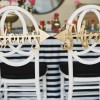Bride and Groom Chair Signs for Every Couple's Style