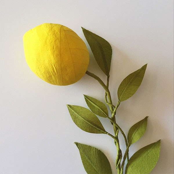 DIY lemon branch from House That Lars Built