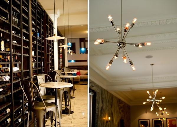 wine bar at Le Meridien Hotel in Florida